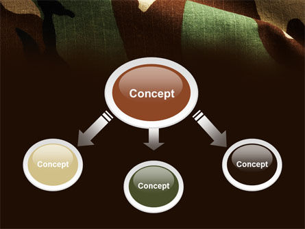 Woodland Camouflage PowerPoint Template Slide 4