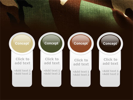 Woodland Camouflage PowerPoint Template Slide 5