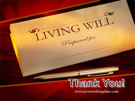 Living Will PowerPoint Template Slide 20