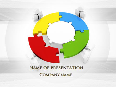 Business Concepts: Joint Stock Company PowerPoint Template #09679