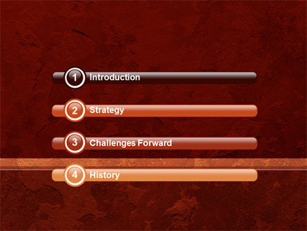 Red Velvet PowerPoint Template, Slide 3, 09682, Abstract/Textures — PoweredTemplate.com