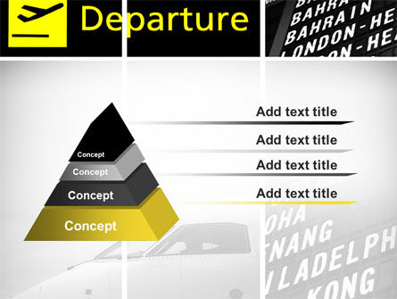 Airport Terminal PowerPoint Template, Slide 4, 09683, Cars and Transportation — PoweredTemplate.com
