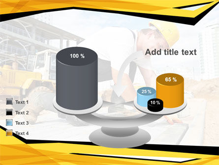 House Builder On Construction Site PowerPoint Template Slide 10