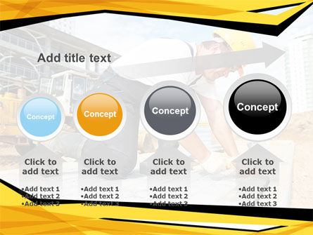 House Builder On Construction Site PowerPoint Template Slide 13