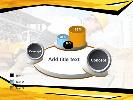House Builder On Construction Site PowerPoint Template Slide 16