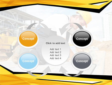 House Builder On Construction Site PowerPoint Template Slide 6