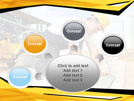 House Builder On Construction Site PowerPoint Template Slide 7