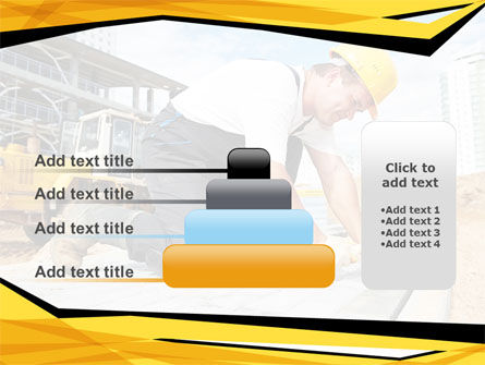 House Builder On Construction Site PowerPoint Template Slide 8