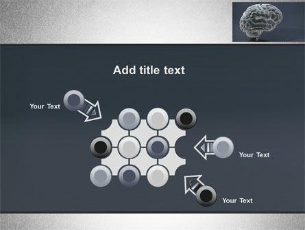 Human Brain Model PowerPoint Template Slide 10