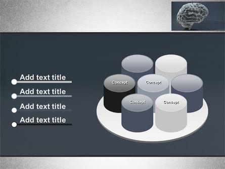 Human Brain Model PowerPoint Template Slide 12