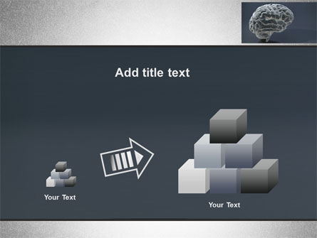 Human Brain Model PowerPoint Template Slide 13