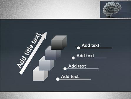 Human Brain Model PowerPoint Template Slide 14