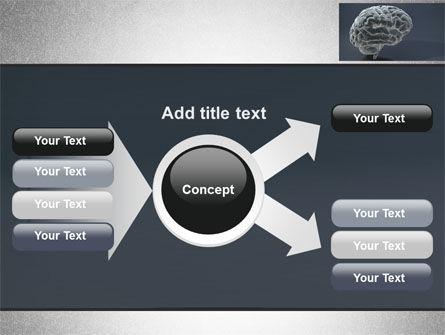 Human Brain Model PowerPoint Template Slide 15