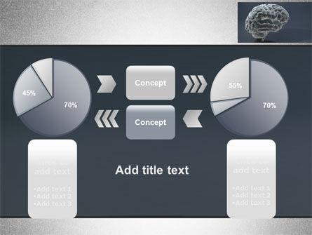 Human Brain Model PowerPoint Template Slide 16