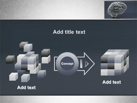 Human Brain Model PowerPoint Template Slide 17