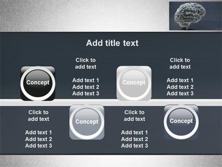 Human Brain Model PowerPoint Template Slide 18