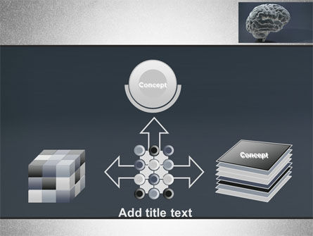 Human Brain Model PowerPoint Template Slide 19