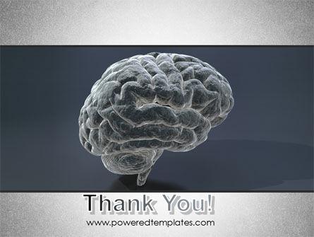 Human Brain Model PowerPoint Template Slide 20