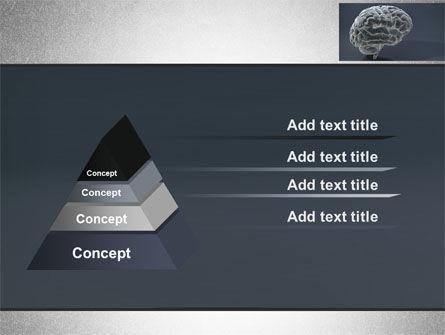 Human Brain Model PowerPoint Template, Slide 4, 09687, Medical — PoweredTemplate.com