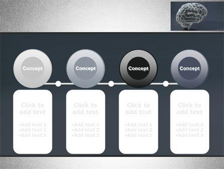Human Brain Model PowerPoint Template Slide 5