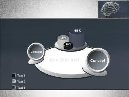Human Brain Model PowerPoint Template Slide 6
