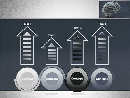 Human Brain Model PowerPoint Template Slide 7