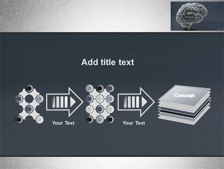 Human Brain Model PowerPoint Template Slide 9