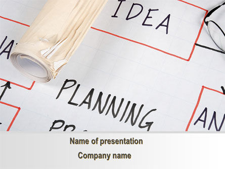 Planning Idea PowerPoint Template, 09692, Business — PoweredTemplate.com