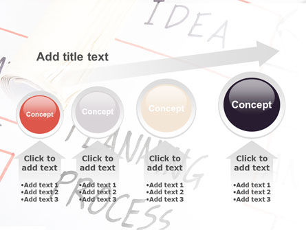 Planning Idea PowerPoint Template Slide 13