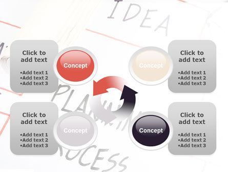 Planning Idea PowerPoint Template Slide 9
