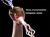 Careers/Industry: Thunderer PowerPoint Template #09694