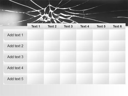 Broken Glass PowerPoint Template Slide 15