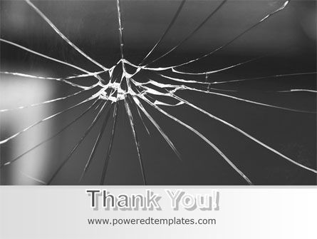 Broken Glass PowerPoint Template Slide 20