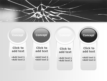 Broken Glass PowerPoint Template Slide 5