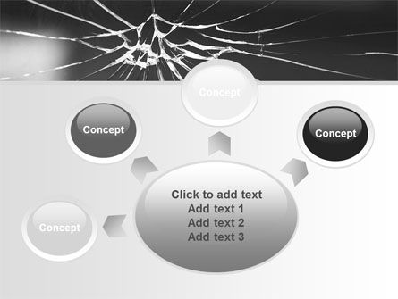 Broken Glass PowerPoint Template Slide 7
