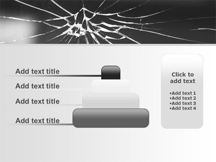 Broken Glass PowerPoint Template Slide 8