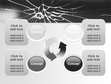 Broken Glass PowerPoint Template Slide 9