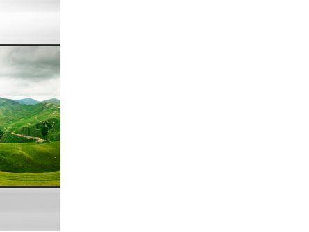 Clouds Landscape PowerPoint Template, Slide 3, 09696, Nature & Environment — PoweredTemplate.com