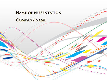 Abstract Surface PowerPoint Template, 09697, Abstract/Textures — PoweredTemplate.com