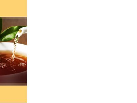 Stream Of Tea PowerPoint Template, Slide 3, 09698, Food & Beverage — PoweredTemplate.com