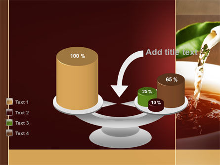 Stream Of Tea PowerPoint Template Slide 10