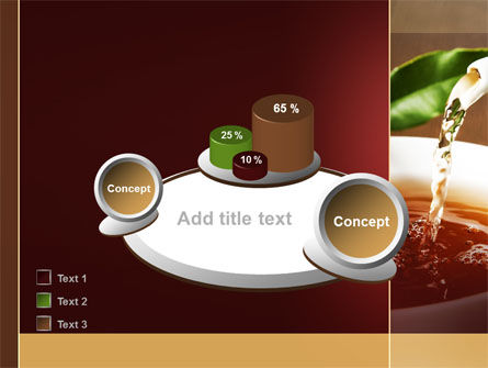 Stream Of Tea PowerPoint Template Slide 16