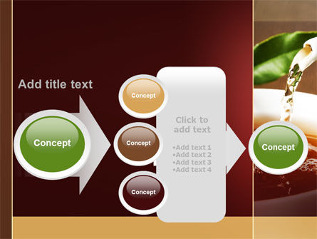 Stream Of Tea PowerPoint Template Slide 17