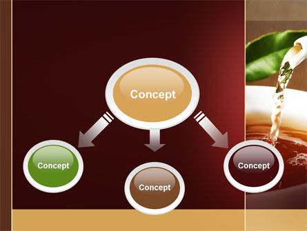 Stream Of Tea PowerPoint Template Slide 4