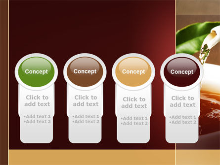 Stream Of Tea PowerPoint Template Slide 5