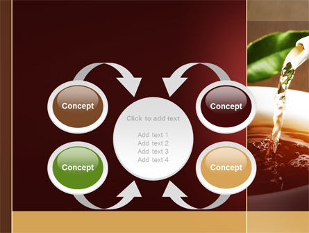 Stream Of Tea PowerPoint Template Slide 6