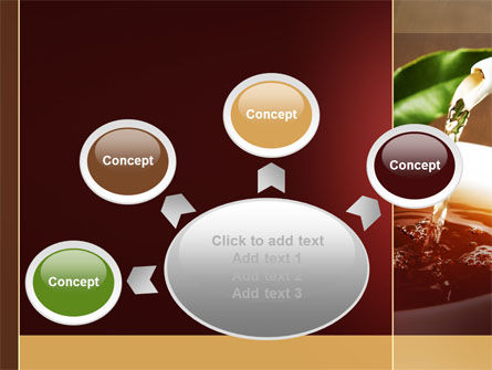 Stream Of Tea PowerPoint Template Slide 7