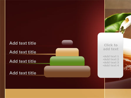Stream Of Tea PowerPoint Template Slide 8