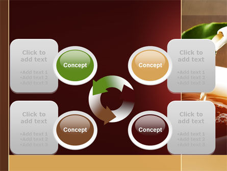 Stream Of Tea PowerPoint Template Slide 9