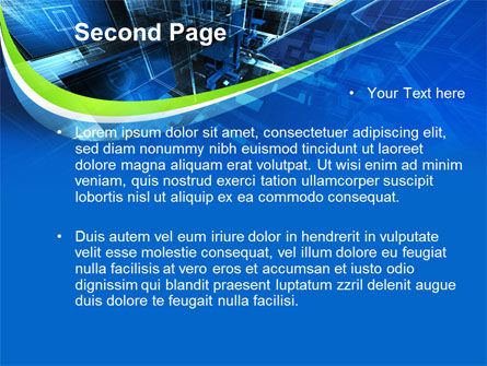 Virtual Office PowerPoint Template, Slide 2, 09699, Technology and Science — PoweredTemplate.com